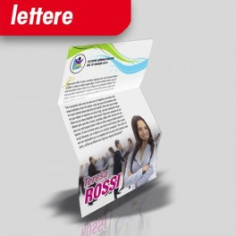 Lettera elettorale 21x29.7 (A4) - Zig Zag
