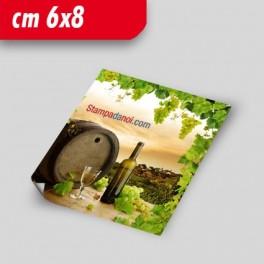 Etichette adesive 6x8