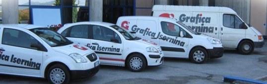 Grafica Isernina - flotta aziendale
