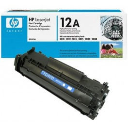 Toner nero HP Q2612A