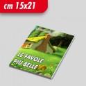 Opuscoli con copertina 15x21